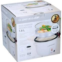Riisikeitin höyrystimellä 1.8 litraa Dunlop