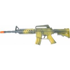 Lasten konekivääri äänillä, vihreä