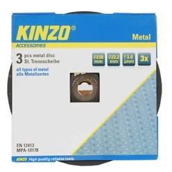 Hiomalaikka 230mm 3 kpl Kinzo