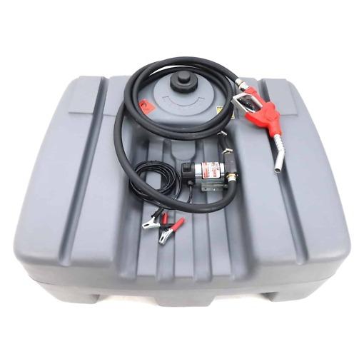 Polttoainesäiliö sähköpumpulla 300 L, Silvan Selecta