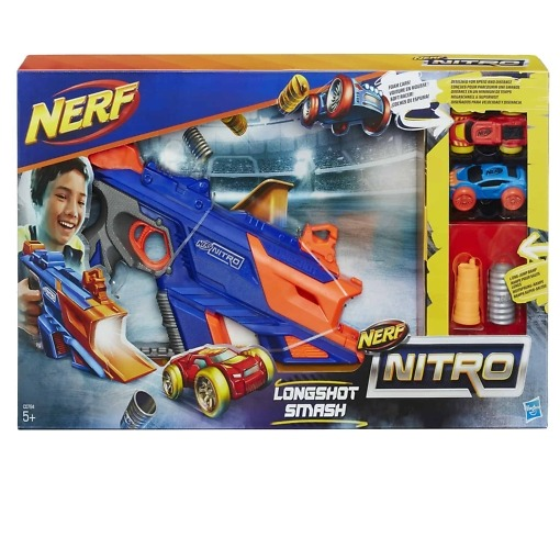 Nerf Nitro Longshot Smash autolaukaisin