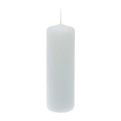 Pöytäkynttilä 6×12 cm valkoinen