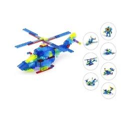 Rakennuspalikat Helikopteri 8 in 1, 153 osaa