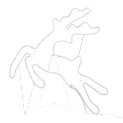 Porohahmo telineellä 73x67 cm