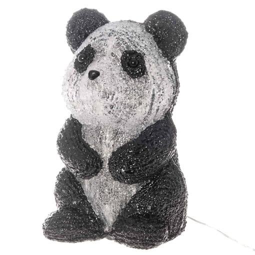 Istuva akryyli panda 27.5cm Finnlumor