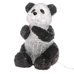 Istuva akryyli panda 29.5cm Finnlumor