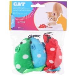 Leluhiiri kissoille 3 kpl
