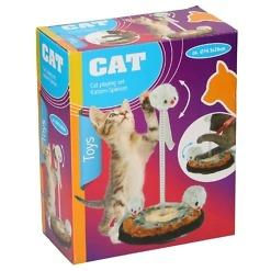 Kissan leikkisetti 3 hiirtä.