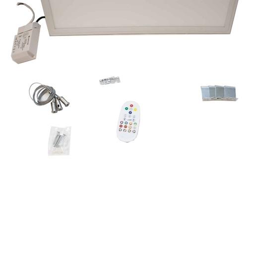 RGB LED paneeli 60 x 60 cm