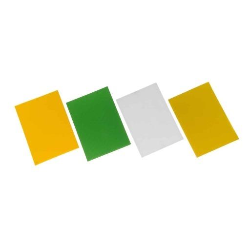 Aaltopahvi askarteluun A4, 4 kpl/pkt