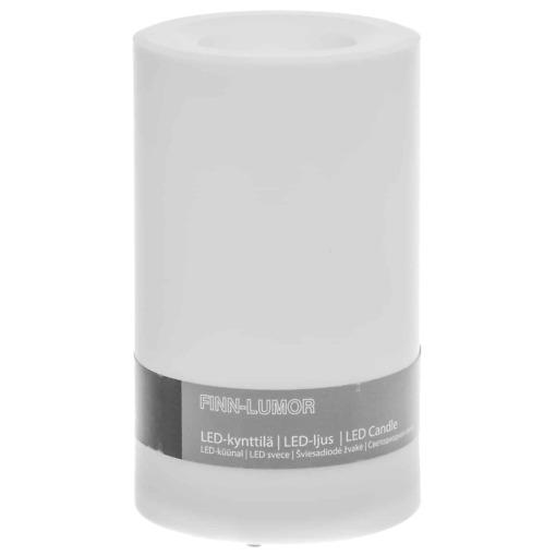 LED kynttilä 7.5x12.5 cm Finnlumor