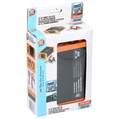 Invertteri 24V-230V / 300 W + USB, All Ride