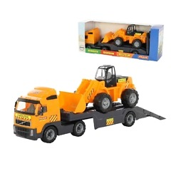 Kuljetusrekka ja kauhakuormaaja 76 cm Volvo