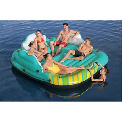 Kelluntalautta Sunny Lounge Island 291x265x83 cm Bestway