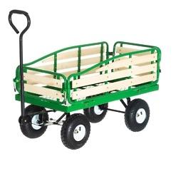 Vedettävä puutarhakärry max. 300 kg