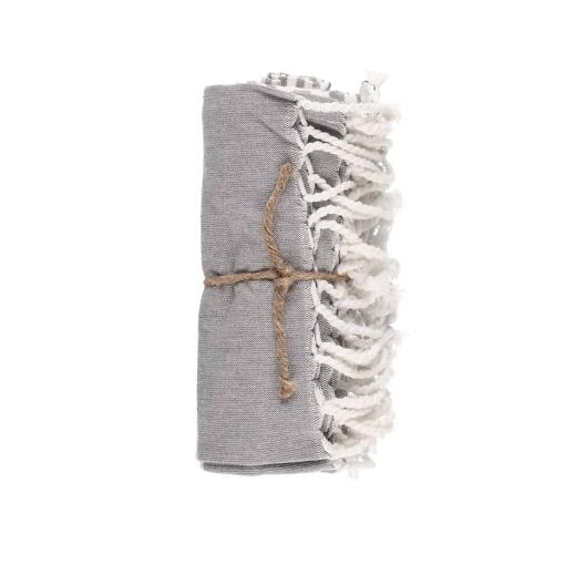 Hamam pyyhe Stripe harmaa 80x150 cm