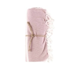 Hamam pyyhe Stripe roosa 80x150 cm