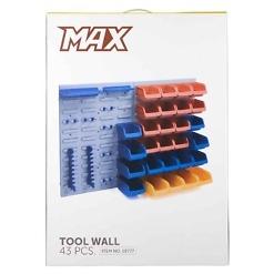 Lokerikko seinällä 43 osaa Max