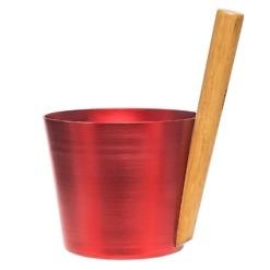 Saunakiulu alumiini liekinpunainen Rento