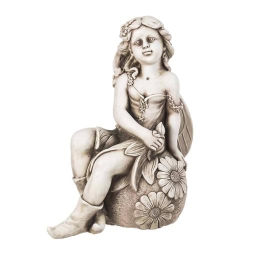 Puutarhapatsas Keijutyttö 55 cm 4Living