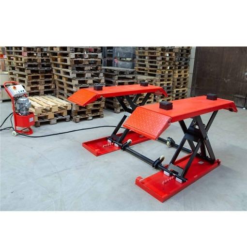 Matalanostin 3500 kg, siirrettävä, sähkölukoilla 230V
