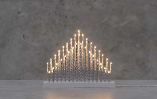 Kynttelikkö Pihja hopea