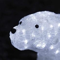 LED-akryylivalaisin Jääkarhu yksityiskohta