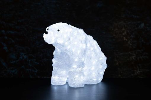 Ulkovalaisin Jääkarhu LED-koristevalo