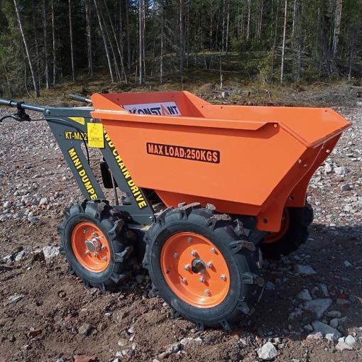 Minidumpperi 4x4, 250kg
