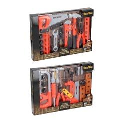 Lasten työkalusetti oranssi Eddy Toys