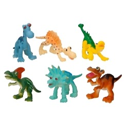 Eläin-leikkisetti 6 osaa Eddy Toys