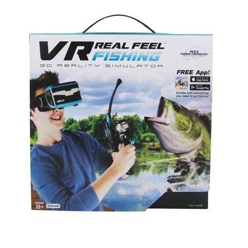 Real Feel Fishing VR-peli