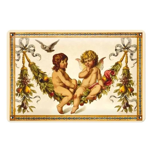 Peltikyltti 20x30 cm Pfunds enkelit