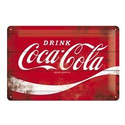 Peltikyltti 20x30 cm Coca-Cola