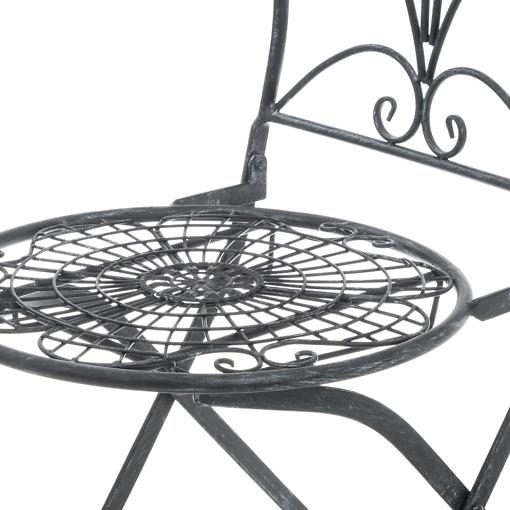 Puutarhakalusto Butterfly tuoli yksityiskohta