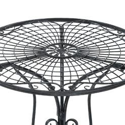 Puutarhakalusto Butterfly pöytä yksityiskohta