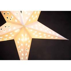 LED-paperitähti 43 cm Finnlumor