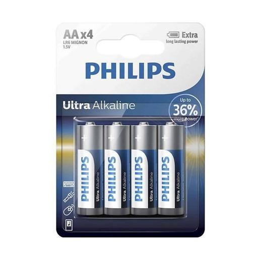 AA-paristo 4 kpl/pkt Philips