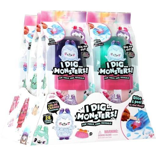 I Dig...Monsters! Monsteripakkaussetti