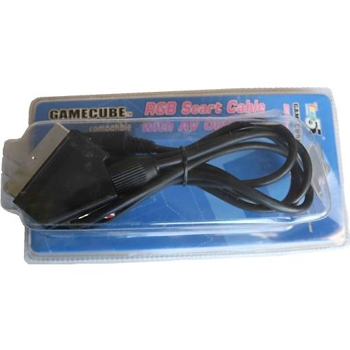 Gamecube RGB Scart-kaapeli AV lähdöllä