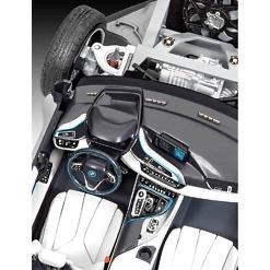 Koottu BMW i8 sisätila