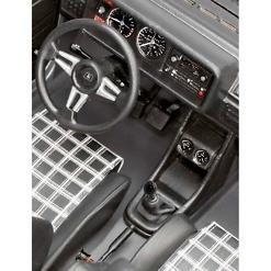 Koottava VW Golf sisätila