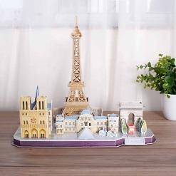 3D palapeli Pariisi horisontti
