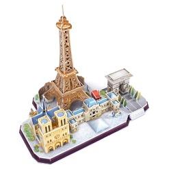 3D-palapeli Pariisi horisontti