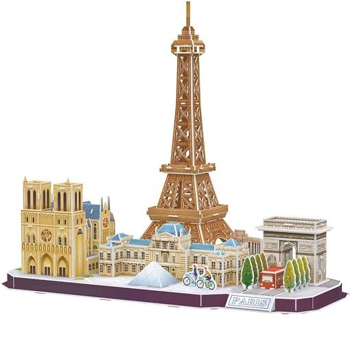 3D palapeli Pariisi
