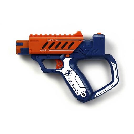 Laserpeli ase oranssi
