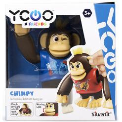 Robottisimpanssi Chimpy sininen