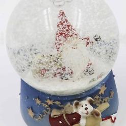 Lumisadepallo Joulupukki