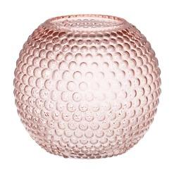 Vaasi Ball 18 cm vaaleanpunainen 4Living