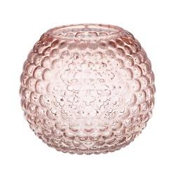 Vaasi Ball 12.5 cm vaaleanpunainen 4Living